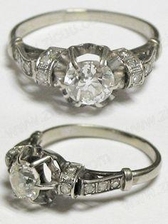 Popular Vintage Wedding Rings Bing