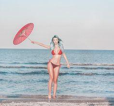 sunt pregatita de ploaie😜 Bikinis, Swimwear, Instagram, Fashion, Bathing Suits, Moda, Swimsuits, Fashion Styles, Bikini