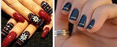 Pretty Artistic Nail Art Red Nail Designs, Pretty Eyes, Class Ring, Nail Art, Nails, Artist, Beauty, Finger Nails, Ongles