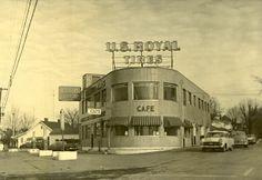 U.S. Royal Tires - 1955 - Danville, KY