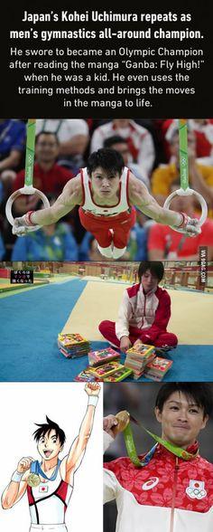 Hail the power of manga!