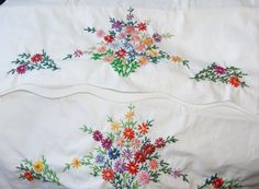 Vintage Embroidered Pillowcases | Shops Embroidered pillowcases and Vintage & Vintage Embroidered Pillowcases | Shops Embroidered pillowcases ... pillowsntoast.com