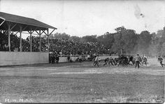M.A.C.-University of Michigan football game by Michigan State University Archives, via Flickr