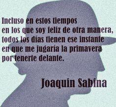 〽️ Joaquín Sabina...