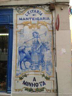 Leitaria e Manteigaria A Minhota, Rua de São José 138, Lisboa.