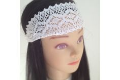 Bandeau Crochet, Crochet Hats, Hairstyle, Html, Accessories, Fashion, Posh Hair, White Hair, Small Leather Bag