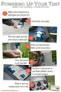 Powering up your tent, with the Outwell Mains Roller