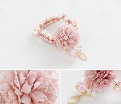 [바보사랑] 봄에 꼭 하고 싶은 헤어밴드 /헤어밴드/헤어핀/머리끈/벚꽃/헤어악세서리/Headband/Cherry/Hair Accessories