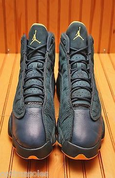 Nike Air Jordan XIII 13 Retro Size 8.5 - Squadron Blue Yellow - 414571 405 594d0c78b
