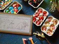Fiesta infantil temática dinosaurios