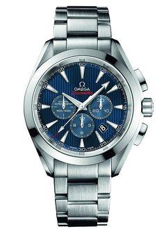 "Omega Seamaster Aqua Terra Co-Axial Chronograph ""London 2012″ Stainless Steel"