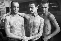 Marked Men: Russian Prison Tattoos | Onelargeprawn