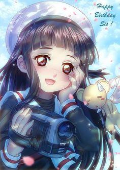 Owww Tomoyo!!! Jajajaj la cara de kero me da risa Sakura y pororo él pequeño pingüino de Sakura Kinomoto