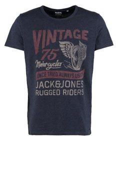 Jack & Jones - Print T-shirt - mood indigo