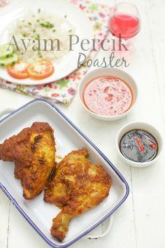 masam manis: Menu 3 Ramadhan yang sangat menyelerakan (Nasi ayam & Ayam percik roaster)