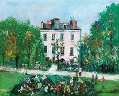 Maurice Utrillo, La maison de Victor Hugo