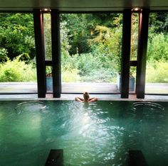 Relaxing at the herb house spa! Lime Wood Hotel and Herb House Spa review