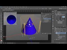 Mover la vista y el objeto en 3D en Photoshop - YouTube