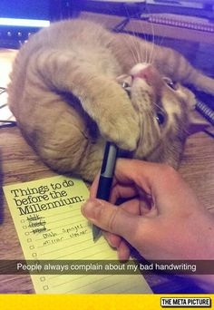 Causes Of Bad Handwriting