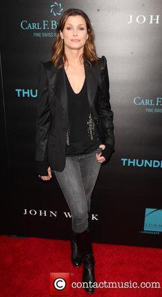 Bridget Moynahan at the New York special screening of 'John Wick' Bridget Moynahan, Tom Selleck, Blue Bloods, John Wick, Red Carpet, New York, Blazer, Jackets, Fashion