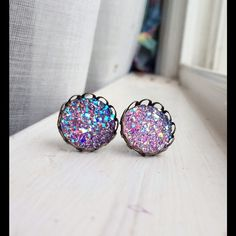 "Selling this ""Handmade post earrings"" in my Poshmark closet! My username is: lauren_briggs. #shopmycloset #poshmark #fashion #shopping #style #forsale #Nameless Creations #Jewelry"