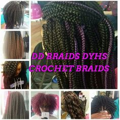 Crochet Braids El Paso : ... Braids on Pinterest Box braids tutorial, Box braids and Havana