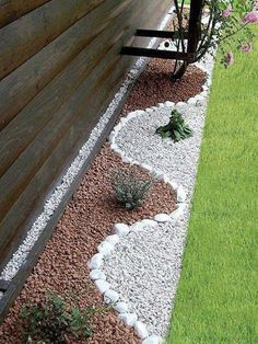 Simple Rock Garden Decor Ideas For Front And Back Yard 61