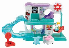 Toy Review: Fisher-Price Bubble Guppies Check-Up Center