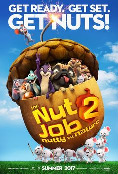 Surly and the whole gang are back in a brand new trailer for THE NUT JOB 2: NUTTY BY NATURE! This nutty new animated comedy ...