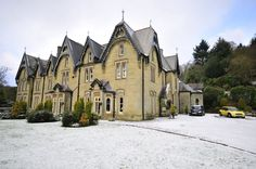 Christmas Traditions: The Abbey Cwm Hir is a beautiful place to stay during Christmas Time in Wales (Powys). It has Victorian Gothic Revival Architecture and was established in 1834, but at Christmas time, every year, each of its 52 rooms is decorated with its own Christmas tree and individual themes. (Runs between 1st Nov - 6th Jan)