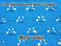 Merry, Knitting, Youtube, Stitches, Knit Stitches, Punch, Knitting Needles, Free Crochet, Crochet Blankets