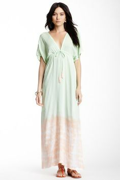 Long Dresses on HauteLook--tiare Hawaii aquarius drawstng maxi sale $46 sold out:(