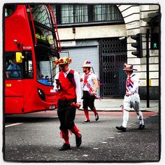 Bad #Beatles #abbeyroad crossing in #London #kookyLondon #stagdo! #Pissedup Good effort on the #traditional #English garb lads #unionjack #GreatBritain #England #UK #quirky #kooky #weird #oddball #funny #BakerStreet #Londonbus #MarbleArch