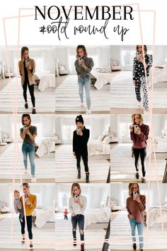 #ootd Round Up | November - my kind of sweet | outfits | outfit ideas | women's fashion | mom style | casual style | real outfits | outfit inspiration #outfits #outfitideas #momstyle #womensfashion #outfitinspiration #realoutfits #ootd #style #bloggerstyle #falloutfits #fallstyle #winterstyle #winteroutfits Daily Fashion, Everyday Fashion, Women's Fashion, Fashion Trends, Holiday Fashion, Autumn Winter Fashion, Winter Style, Casual Mom Style