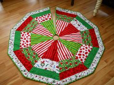 Reserved for Francine Quilted Christmas Tree by BattyQuilter