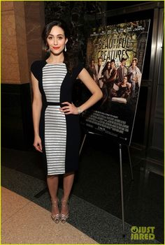 Emmy Rossum and Charlotte Olympia Ursula Sandals Photograph