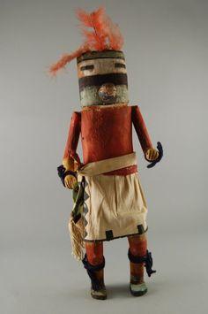 Brooklyn Museum: Arts of the Americas: Kachina Doll (Uhuhu)