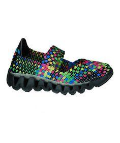 Look what I found on #zulily! Black & Pink Charm 3 Slip-On Shoe by Bernie Mev #zulilyfinds