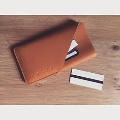 #Mujjo leather wallet sleeve - By @_mikr_ from #strasbourg - Available at mujjo.com