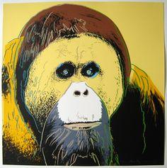Endangered Species: Orangutan, 1983 / Andy Warhol (1928-1987)