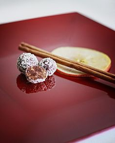 Apfel Calvados Zimt Praline