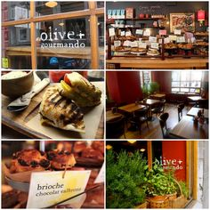 Olive et Gourmando, Montreal. Delicious pastries + relaxed atmosphere = Place to catch up with an old friend or get some creative work done.