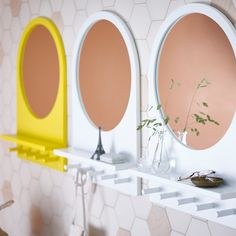 Um para cada reflexo. #espelhos #decoração #IKEAPortugal