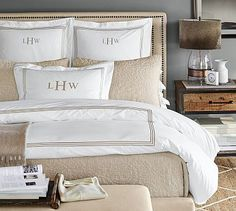 Grand Organic Duvet Cover & Sham #potterybarn/Blue Opal
