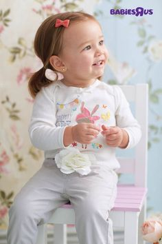 Who says life can't be all bunnies and butterflies? Shop the cutest assortment of hair bows, shirts and pants for your little one in our spring Koala Kids fashion collections.