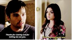 I want them to be together again!!! But it is going to take a while!! #Ezra #Aria #PLL.  PLL 5x03