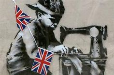 Londoners are angry over the removal of a Banksy mural which has been put up for auction in Miami.