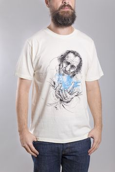 Bukowski T-Shirt Man Ecru