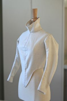 """The Alcega Project: Project #2. F.14 & F.14a - """"Silk doublet for a woman"""""""