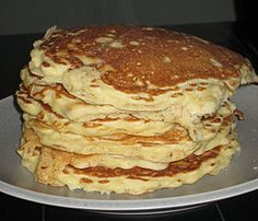 Oatmeal pancakes -- don't buy the boxed mix.  This is too easy to make from scratch. Trust me!